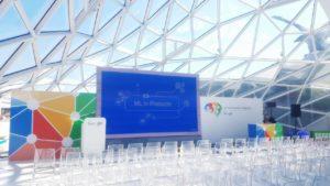 Servizi tecnici congressuali. Convention aziendale Google