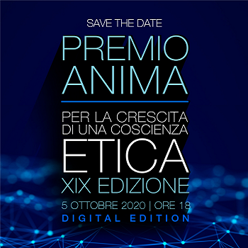 """ANIMA  """" Anima Award 2020 """" Rome October 2020"""